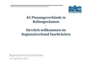 Kurzdarstellung Planung im Regionalverband