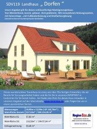 """SDV119 Landhaus """" Dorfen """""""