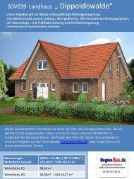 """SDV039 Landhaus """" Dippoldiswalde"""""""