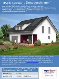 """SDV084 Landhaus """" Donaueschingen"""""""