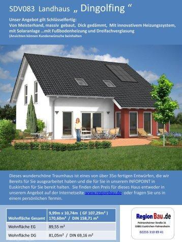 """SDV083 Landhaus """" Dingolfing """""""