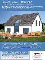 """SDHV100 Landhaus """" Dornhan """""""