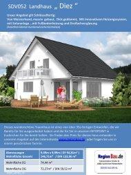 """SDV052 Landhaus """" Diez """""""