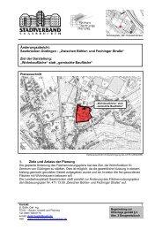 Zwischen Bühler- und Fechinger Straße