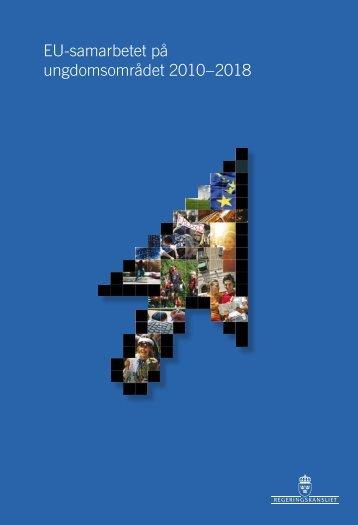 EU-samarbetet på ungdomsområdet 2010–2018 - Region Dalarna
