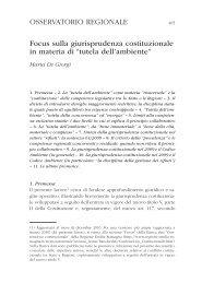 tutela dell'ambiente - Regione Emilia-Romagna