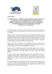 PATTO DI STABILITÀ INTERNO - Regione Emilia-Romagna