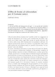 CONTRIBUTI L'Elba di fronte al referendum per il Comune unico