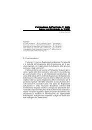 L'attuazione dell'articolo 11 della legge costituzionale n. 3/2001