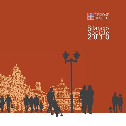 Bilancio Sociale 2010 - Regione Piemonte
