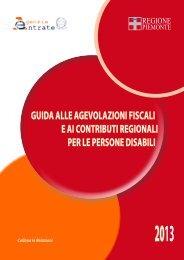 Guida alle agevolazioni fiscali e ai contributi regionali per le ...