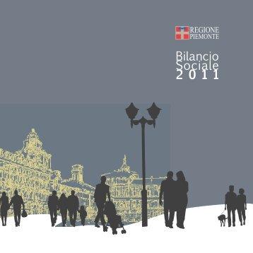 Bilancio Sociale 2011 - Regione Piemonte