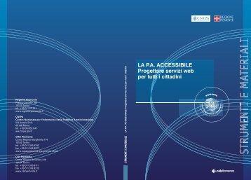 La PA accessibile - LAU - CSI-Piemonte