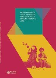 Rapporto sulla Sicurezza 2009 - Regione Piemonte