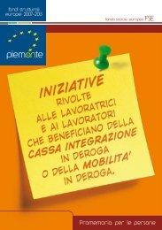 Promemoria per le persone - Regione Piemonte