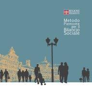 Manuale Metodo Piemonte per la Rendicontazione Sociale