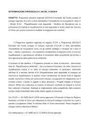 Determinazione Dirigenziale n. 248 del 21.9.2010 - Regione Piemonte