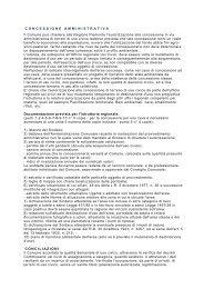 Circolare del Presidente della Giunta Regionale del Piemonte n. 3 ...