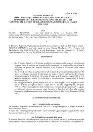 En.A.I.P. Piemonte - Convenzione - Regione Piemonte