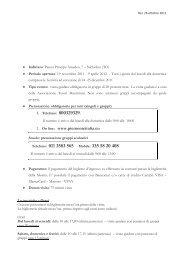 Informazioni - Regione Piemonte