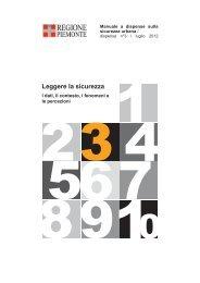Manuale a dispense sulla Sicurezza Urbana - Regione Piemonte