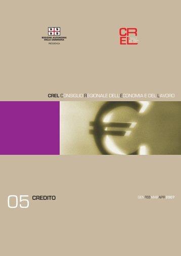 Credito - Regione Autonoma della Sardegna