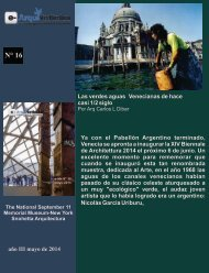 e- ArquiNoticias N° 16 Nota N° 4 Las verdes aguas venecianas de hace casi 1/2 siglo por el Arq. Carlos L. Dibar