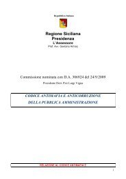 Codice antimafia - Regione Siciliana