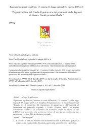 Regolamento - Regione Siciliana