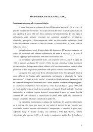 1 BACINO IDROGEOLOGICO DELL'ETNA Inquadramento ...