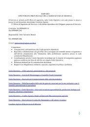Servizio Ispettorato Provinciale dell' Agricoltura di Messina