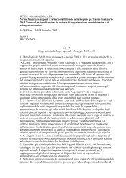 Artt. 12, 13, 14 e 76 comma 25 L.r. 20/2003