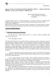 ALLEGATO AUTORITA' AMBIENTALE All'Assessor - Regione Siciliana