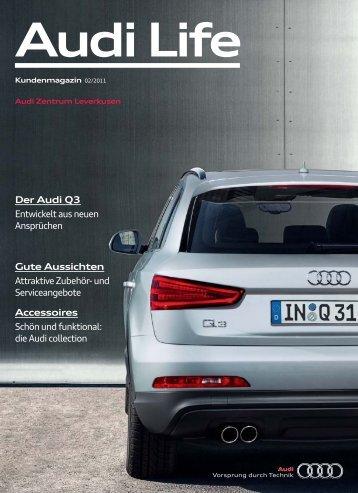 Zeitgemäße Performance. Der Audi Q3.