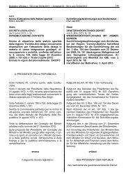 Amtsblatt Nr. 18 vom 30/04/2013 - Regione Autonoma Trentino Alto ...