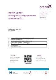 creoDK Update, marts 2013 - Region Hovedstaden