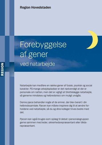 Forebyggelse af gener - Region Hovedstaden