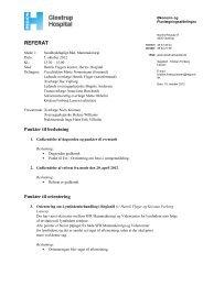 Referat fra møde i SFR Mammakirurgi 5. okt. 2012
