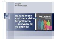 Sikkerhed i patientforløbet i sektorovergange v. overlæge Anne ...