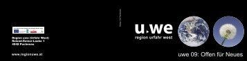 Einladung und Programm - Region UWE