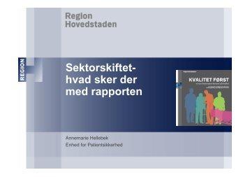 Oplæg Annemarie Hellebek