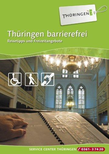 Thüringen barrierefrei - Stadt Arnstadt