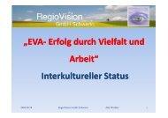 Interkultureller Status und Kompetenzfeststellung - RegioVision ...