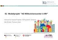 AG Willkommenscenter in MV - RegioVision GmbH Schwerin