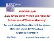 Interkulturelle Status Quo - RegioVision GmbH Schwerin