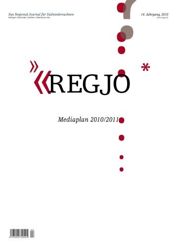 Mediaplan 2010/2011 - RegJo