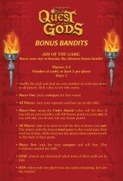 BONUS BANDITS - Supadu