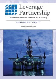 Recruitment Specialists for the Oil & Gas Industry TALENT ... - Supadu