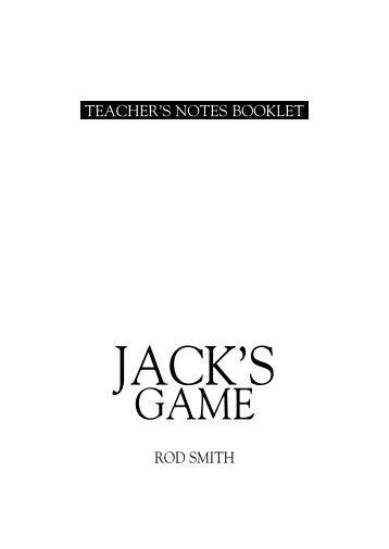 Jack's Game - Supadu