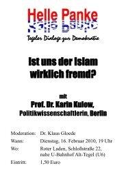 Prof. Dr. Karin Kulow - DIE LINKE. Berlin